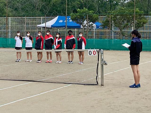 令和3年度 第60回東京都高等学校新人テニス選手権大会